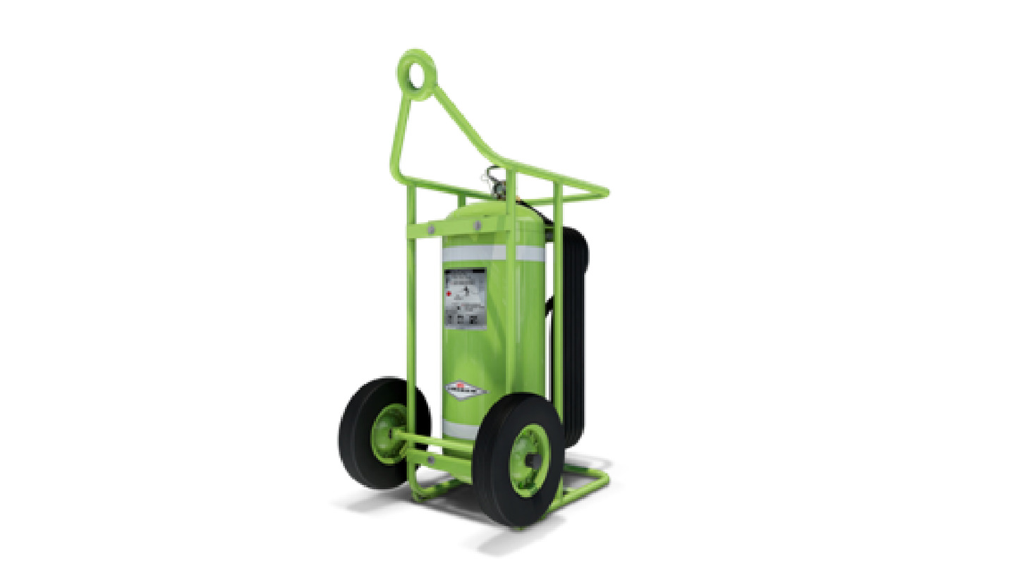 Logo Clean Agent wheeled unit