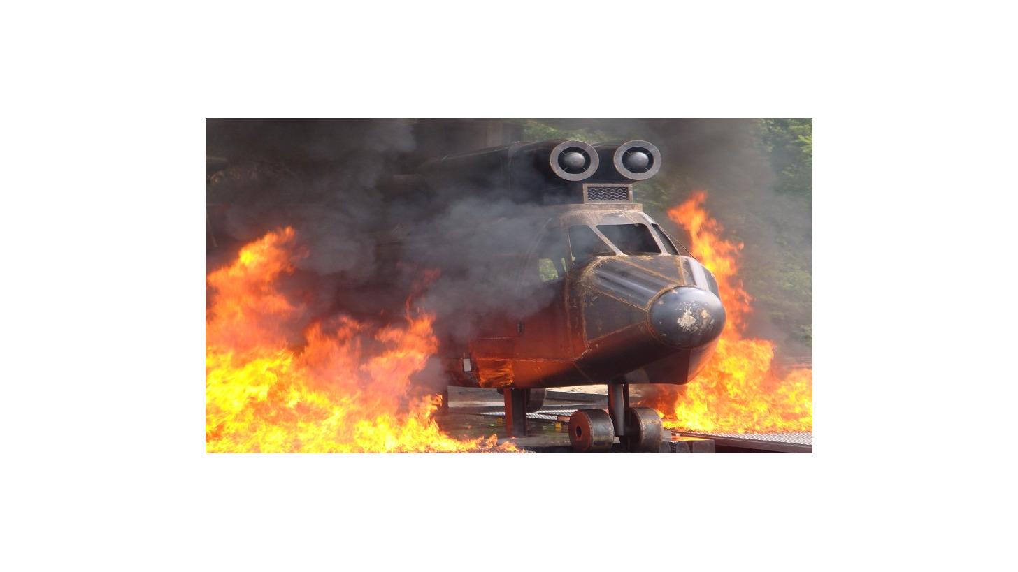 Logo B757 Mock-Up Aircraft Fire Simulator