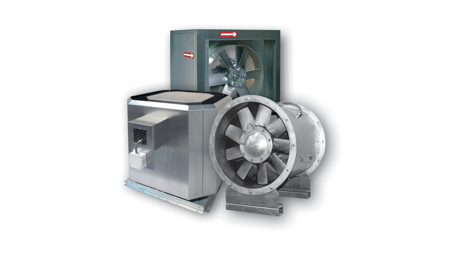 Logo Smoke exhaust fans
