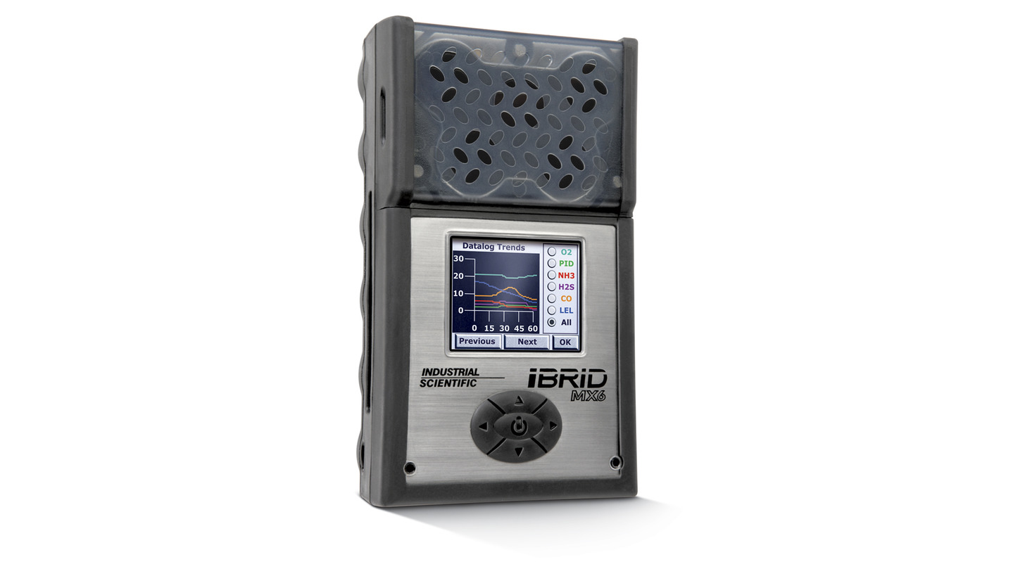 Logo MX6 iBrid - Portable Multi-Gas Monitor