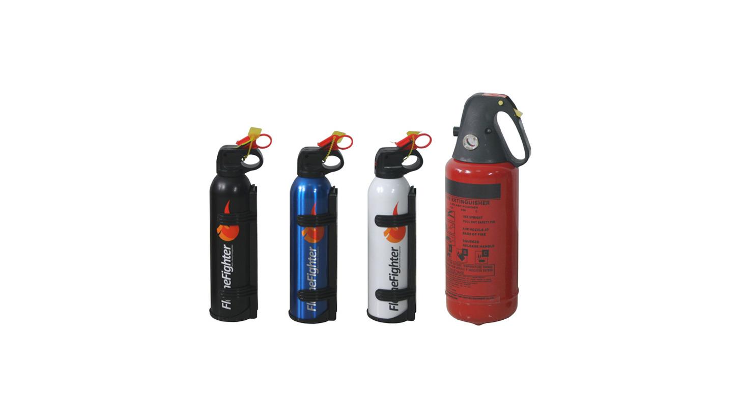 Logo Home & car fire extinguisher