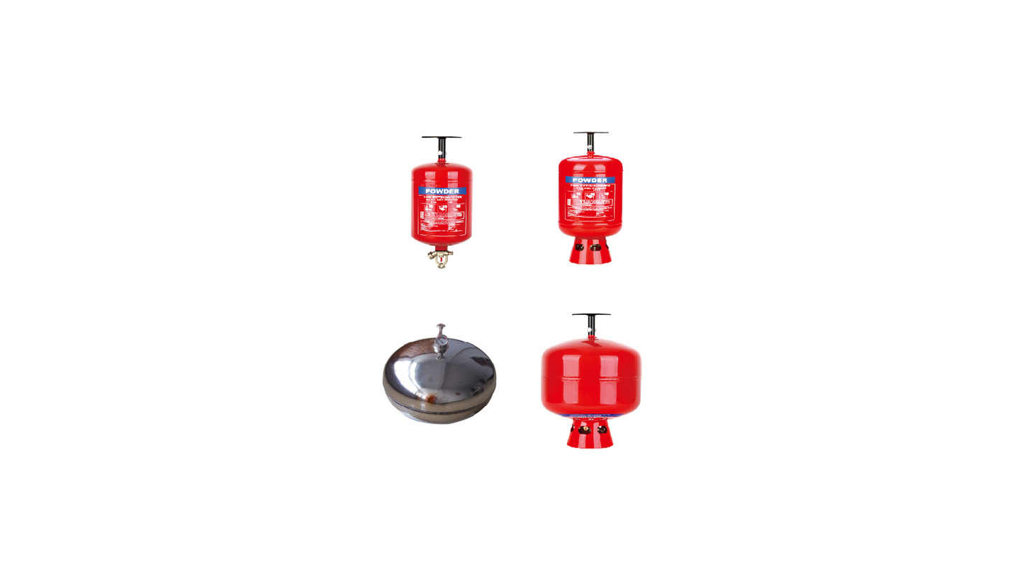 Logo Automatic fire extinguisher
