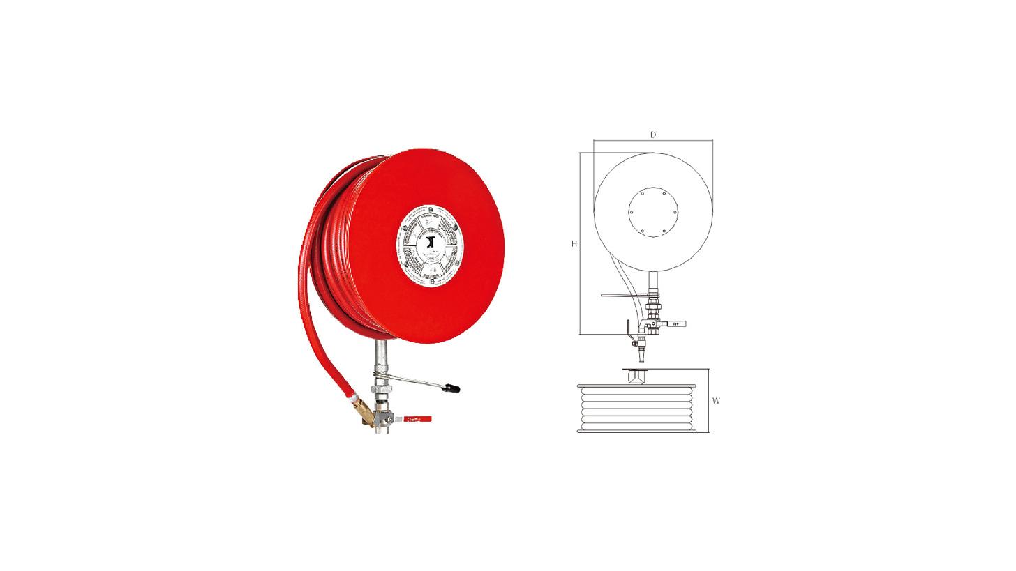 Logo Fire hose reel