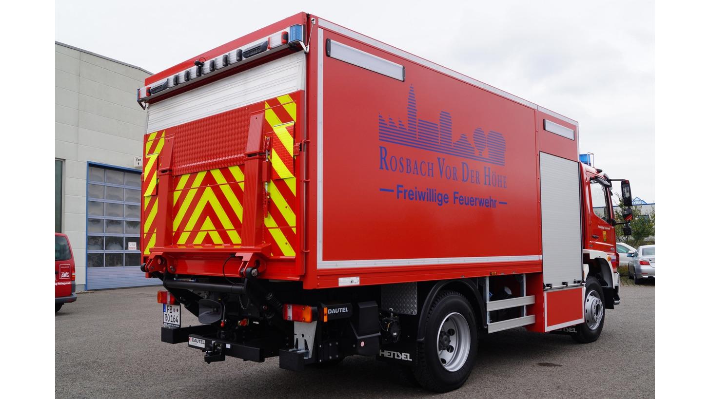 Logo Gerätewagen Logistik