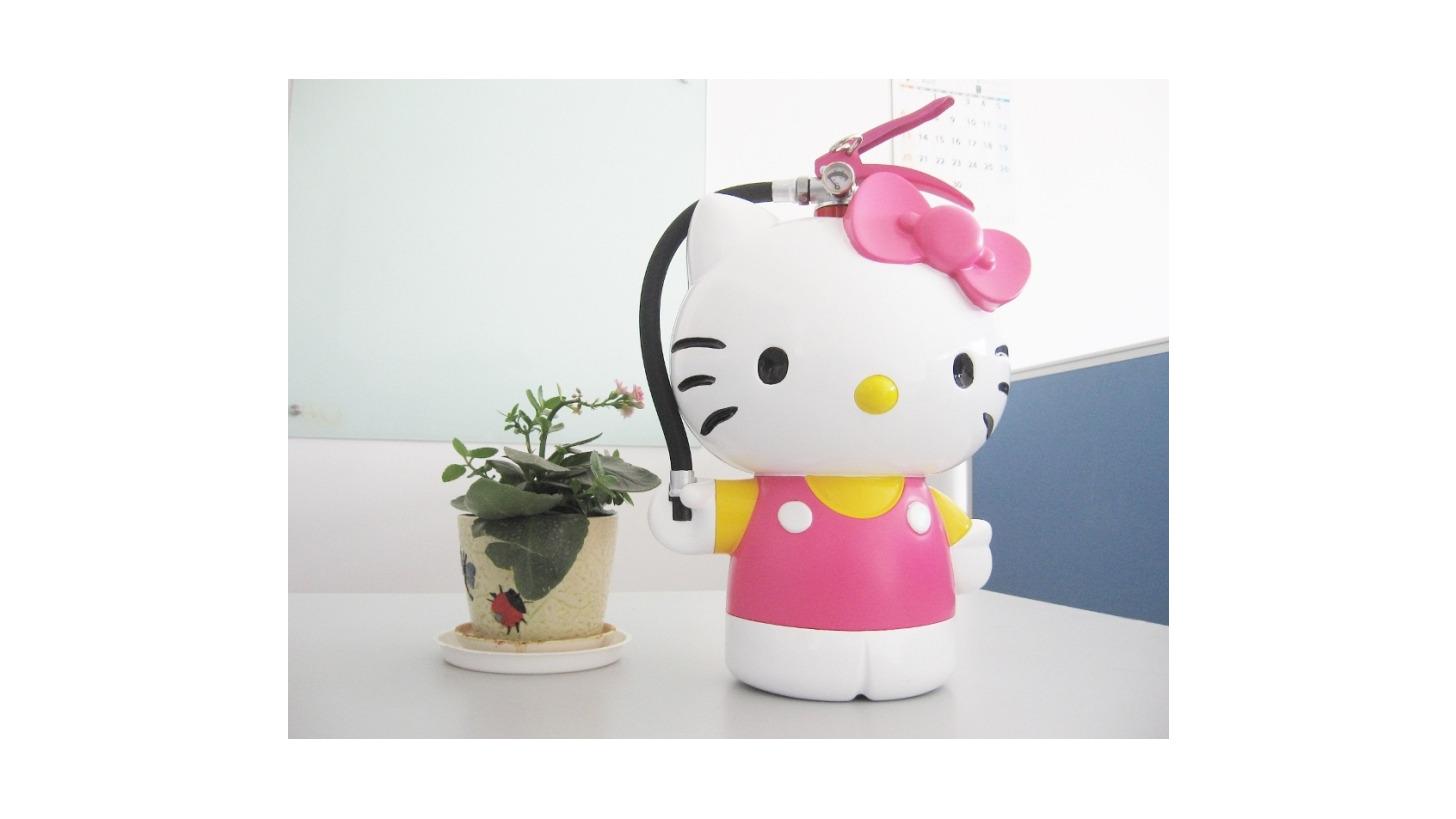 Logo Hello Kitty Fire Extinguisher