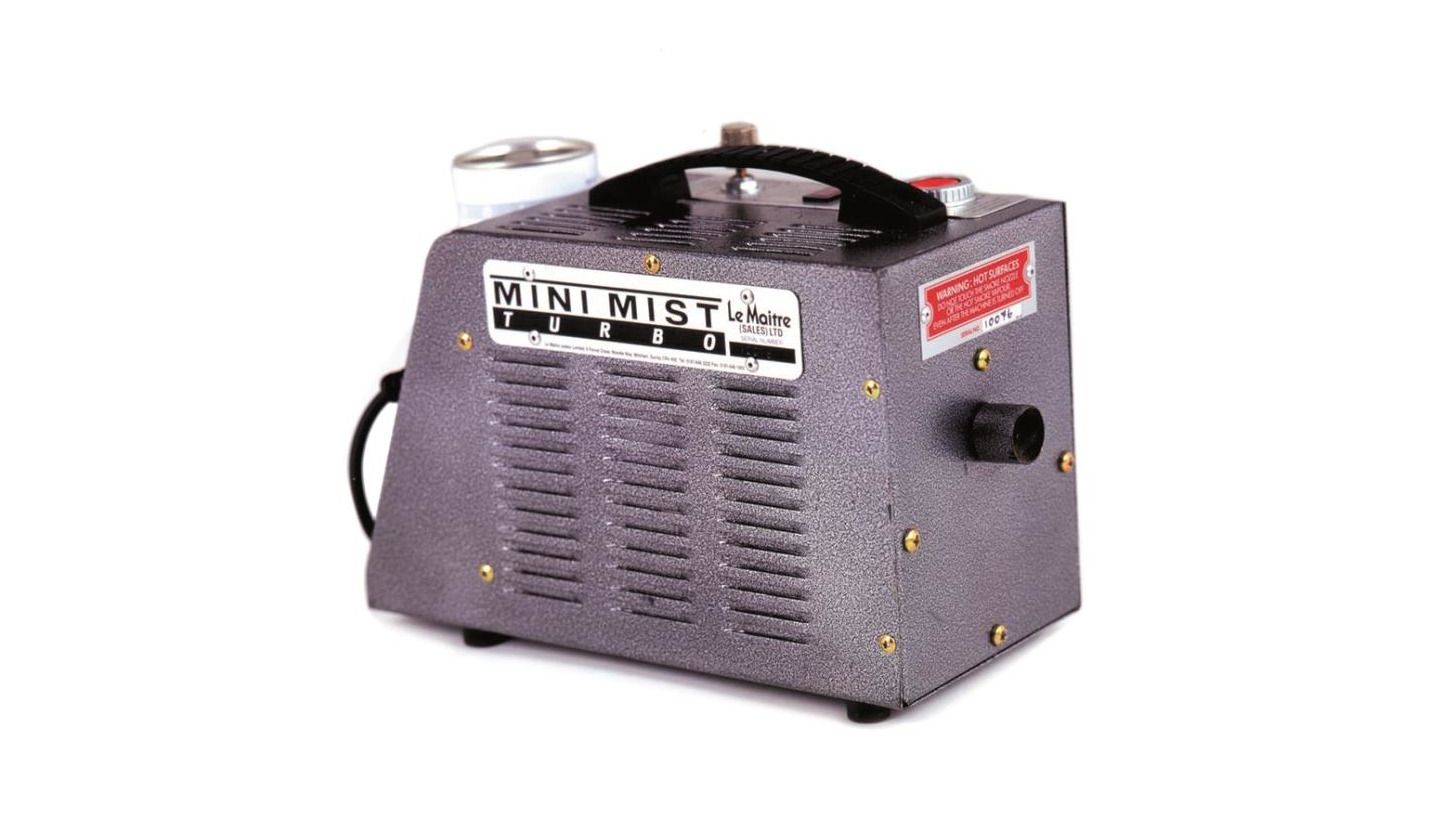 Logo Mini Mist Smoke Generator