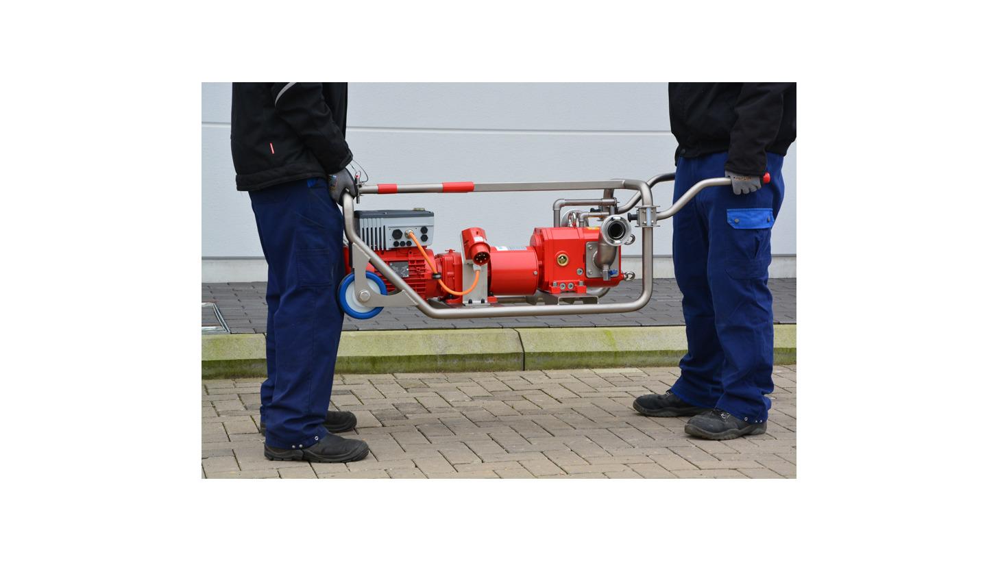 Logo Börger tragbare Pumpen