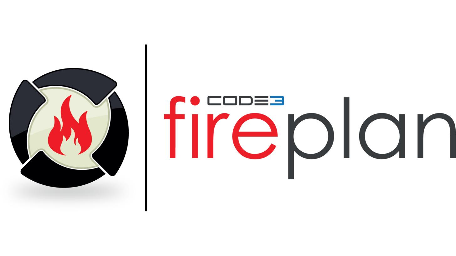 Logo fireplan - Die Feuerwehr-Software!