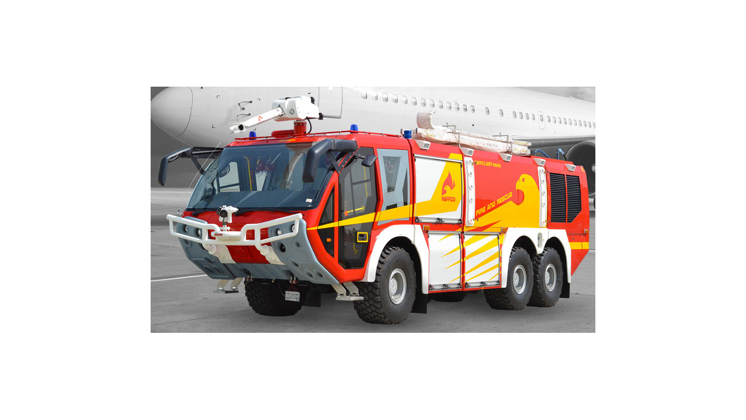Logo Airport Rescue and Fire Fighting Vehicle