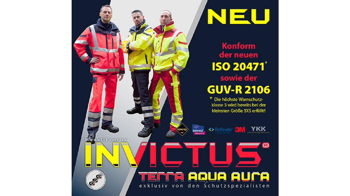 Logo Neue Serie INVICTUS