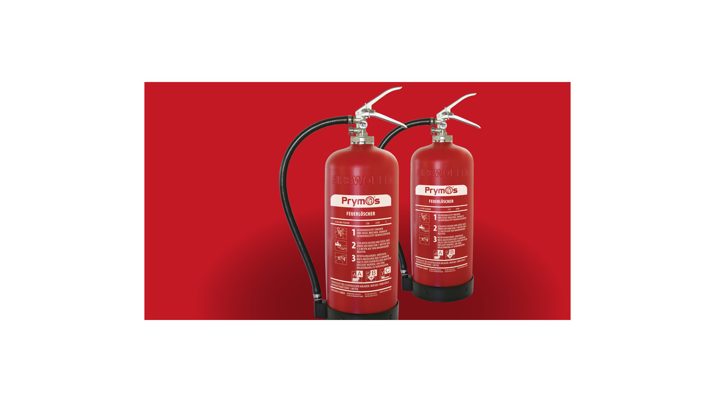 Logo PM10 - Low-maintenance Fire Extinguisher