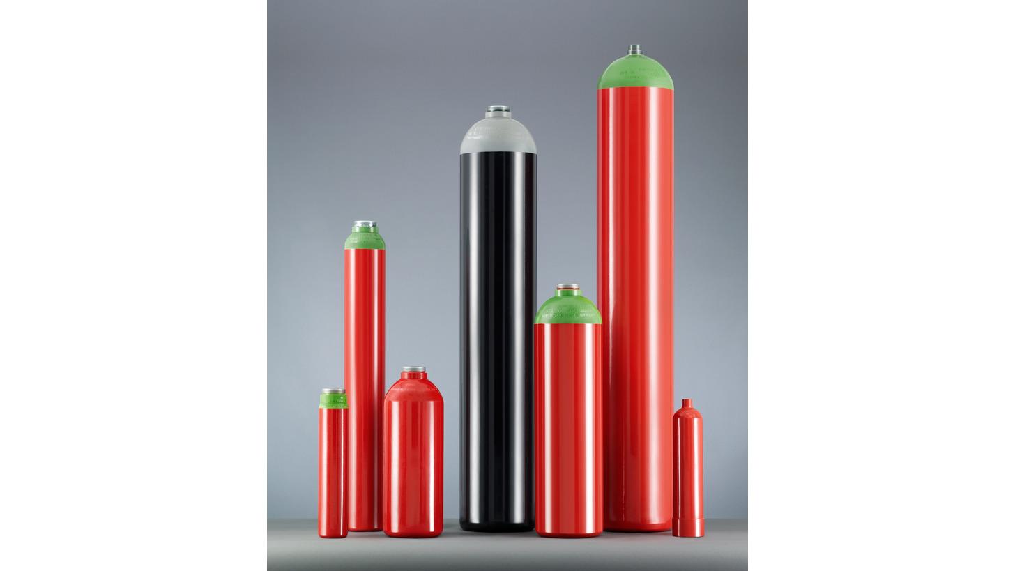 Logo High-pressure seamless steel cylinders