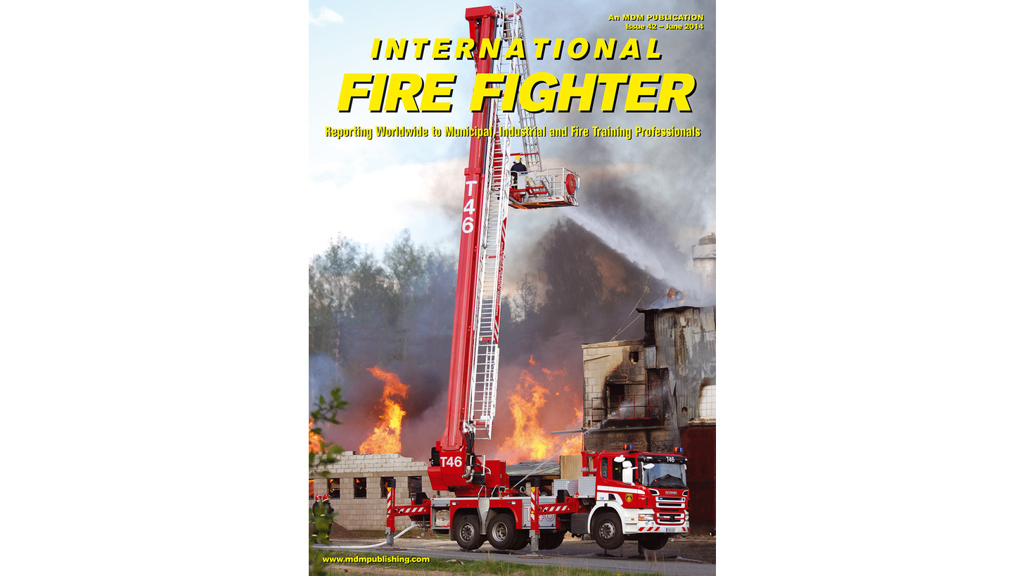 Logo International Fire Fighter Magazine
