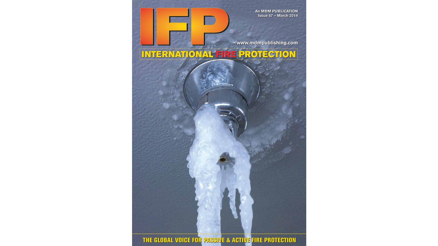 Logo International Fire Protection Magazine