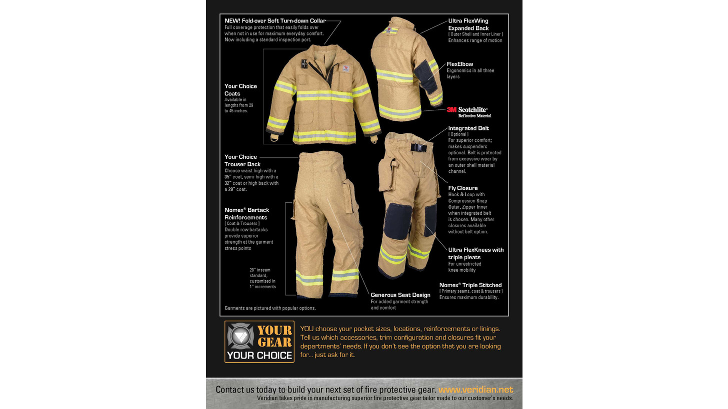Logo Firefighters protective clothing