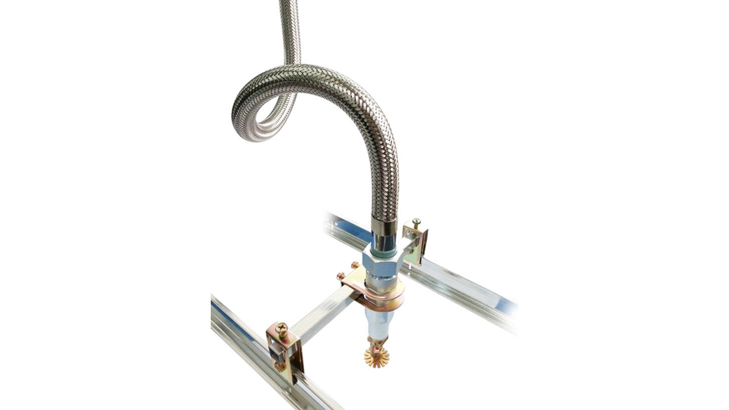 Logo Sprinkler flexible hose with fittings
