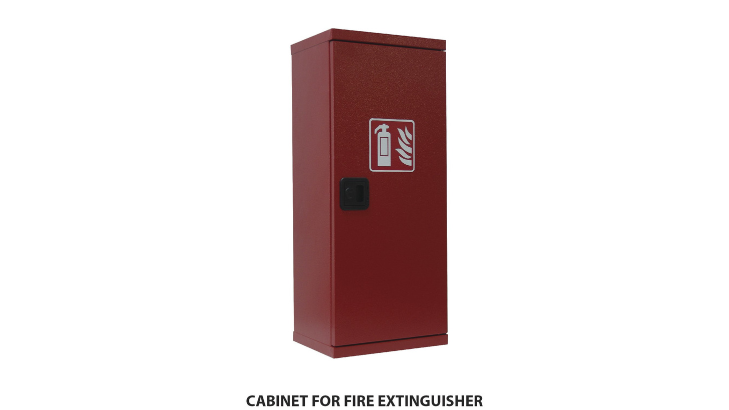 Logo CABINET FOR FIRE EXTINGUISHER