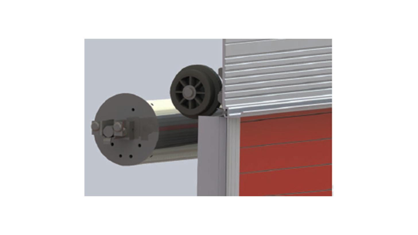 Logo Series IV Shutter Doors