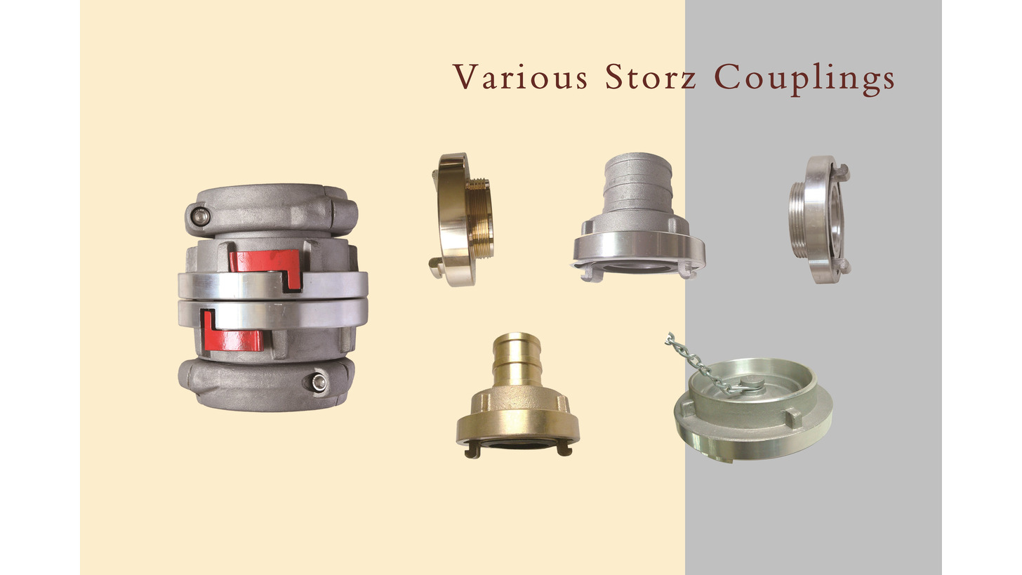 Logo Hose Couplings, Nozzles, and Fittings