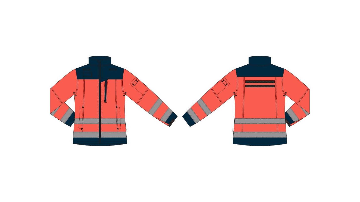 Logo Jacket softshell women - Paramedic