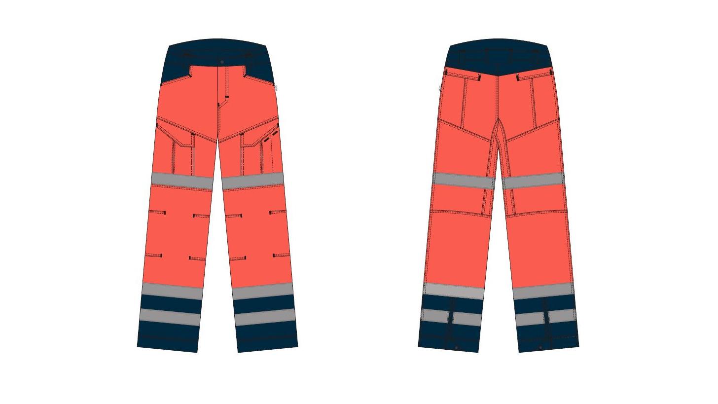 Logo Trousers mens - Paramedic
