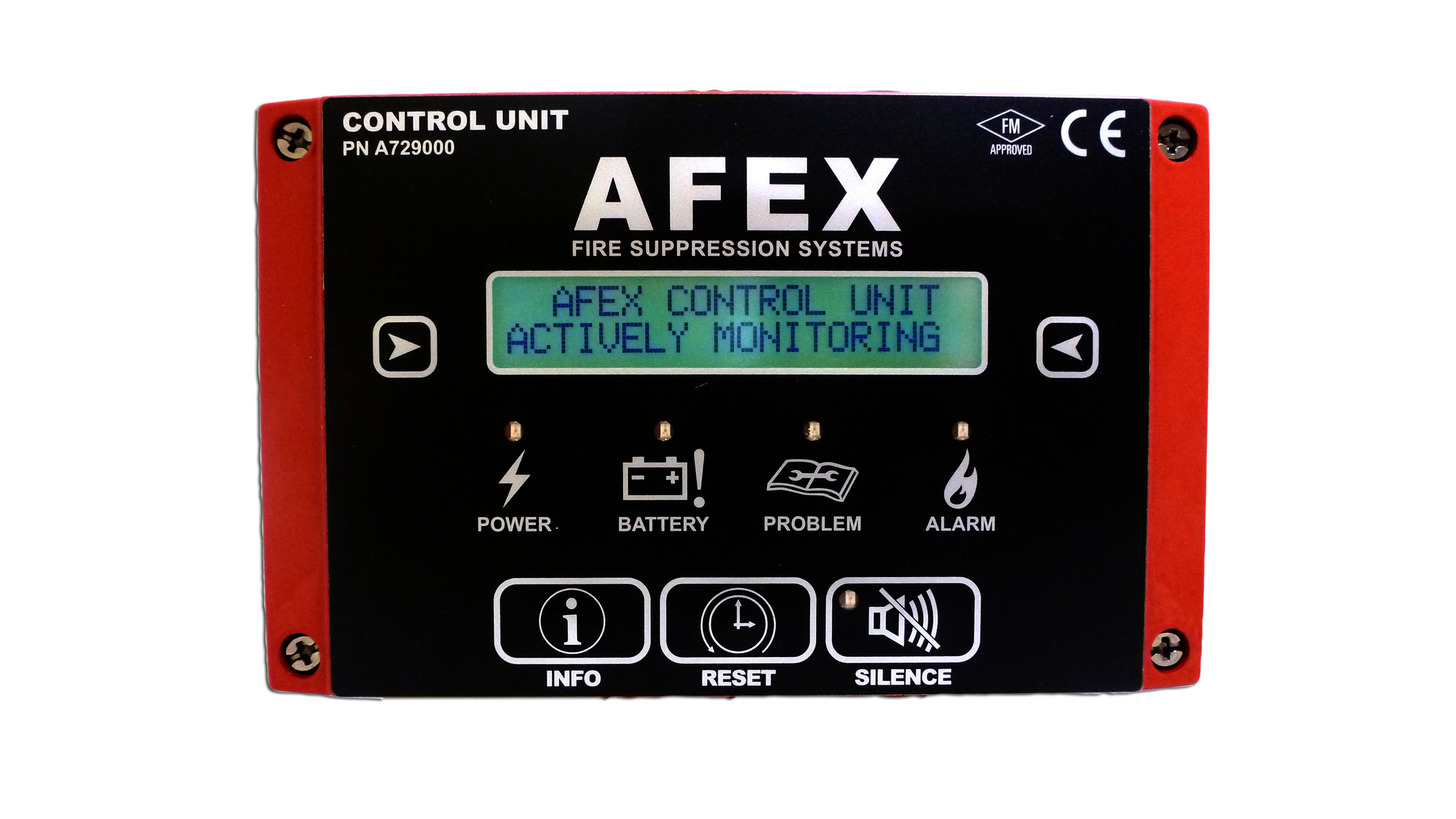 Logo The AFEX Control Unit