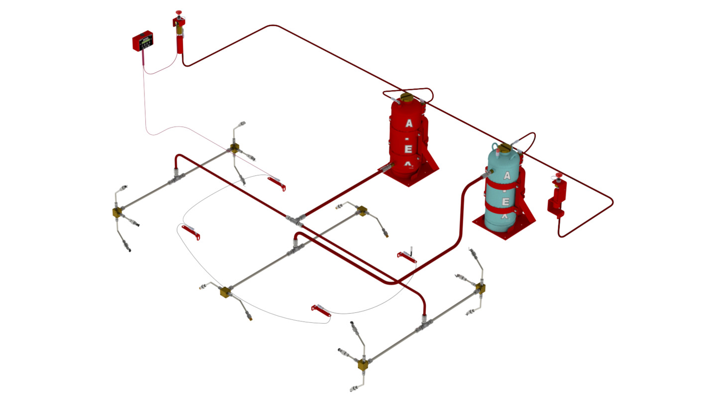 Logo AFEX Dual Agent Fire Suppression System