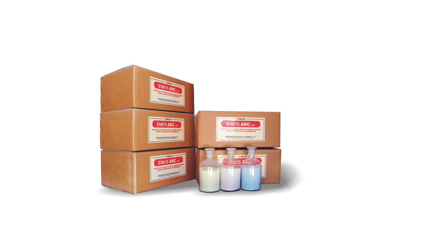 Logo Dry Powder extinguishing agent