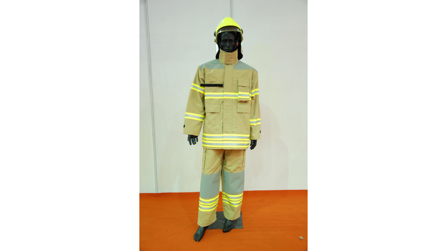 Logo Fire Fighter Garment Model FIRE DEFENC