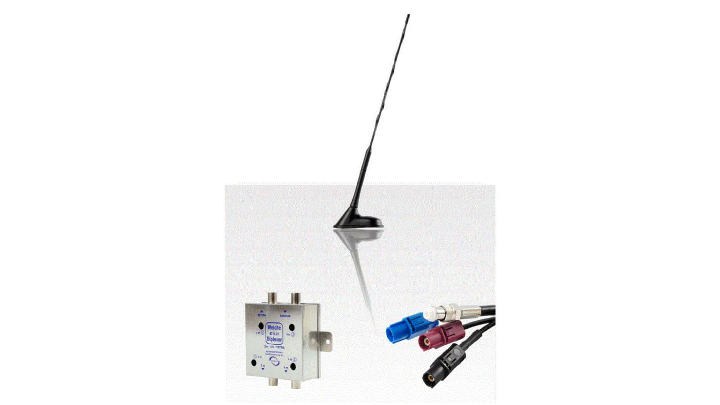 Logo TETRA/BOS antennas