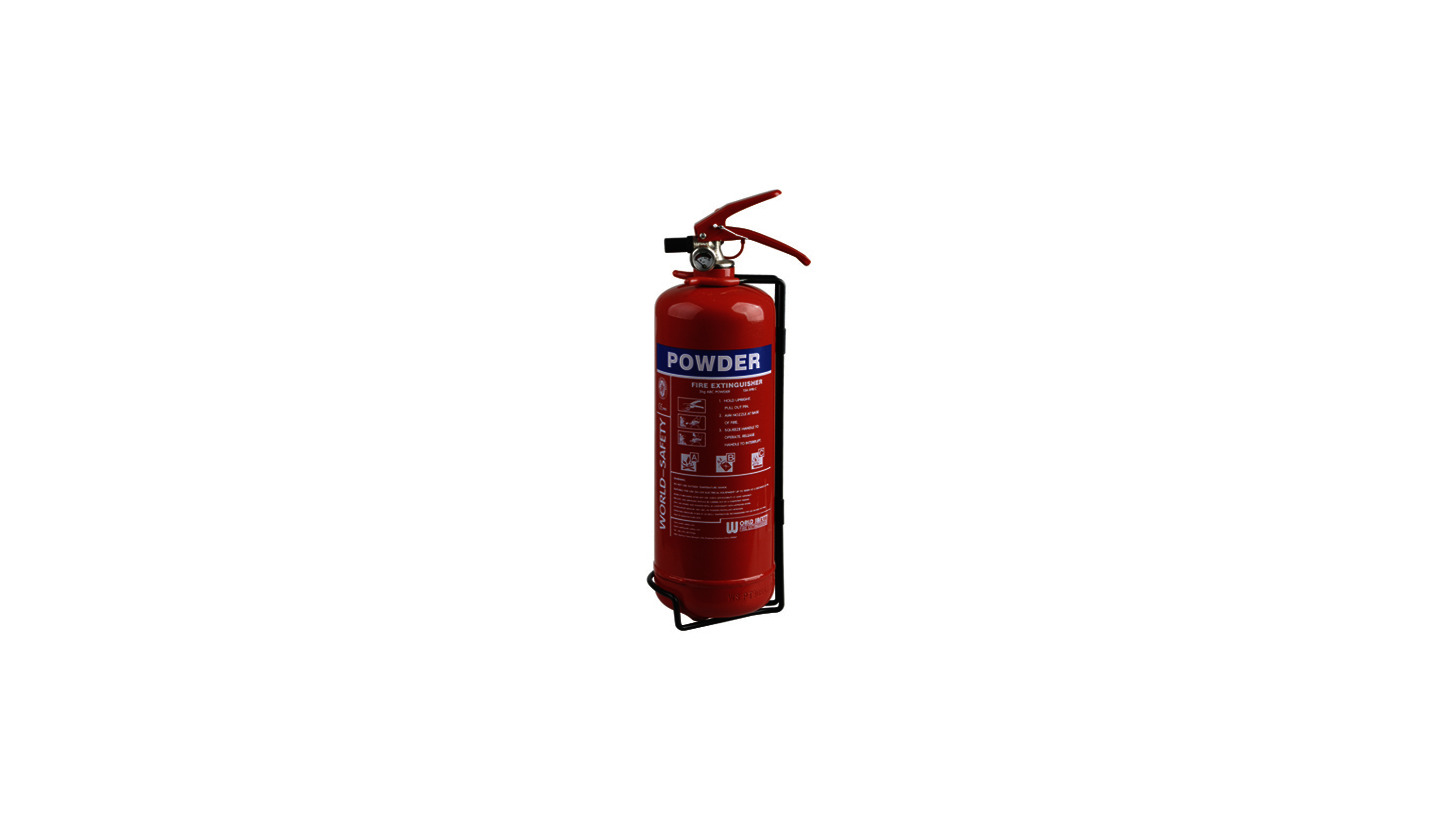 Logo 2kg Powder Fire Extinguishers