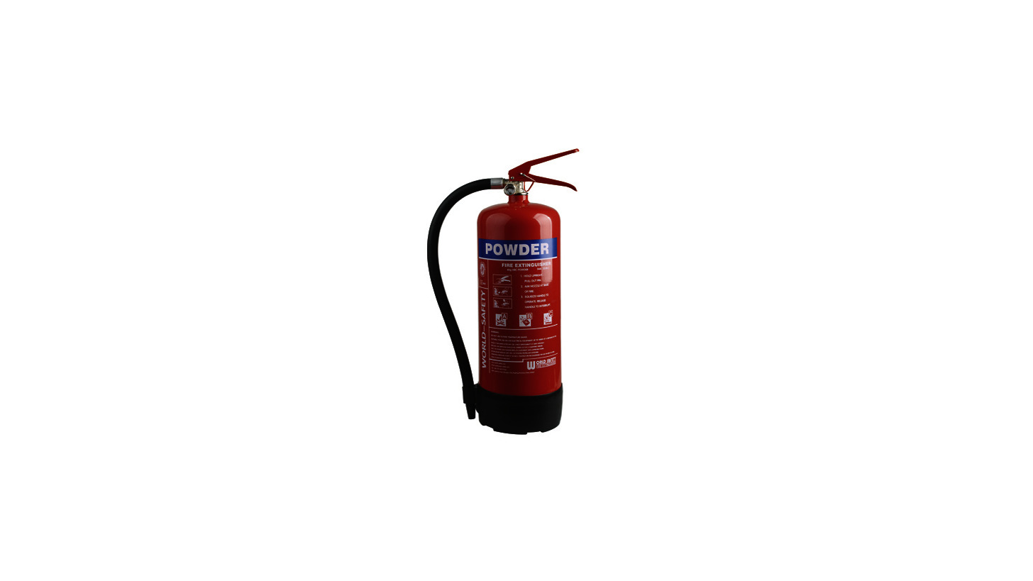 Logo 4kg Powder Fire Extinguishers