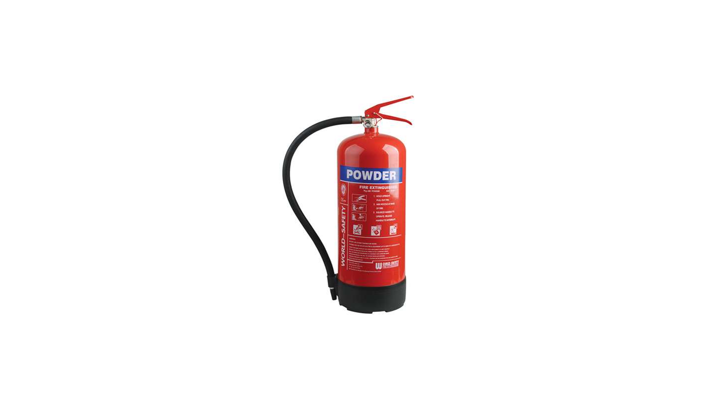 Logo 9kg Powder Fire Extinguishers