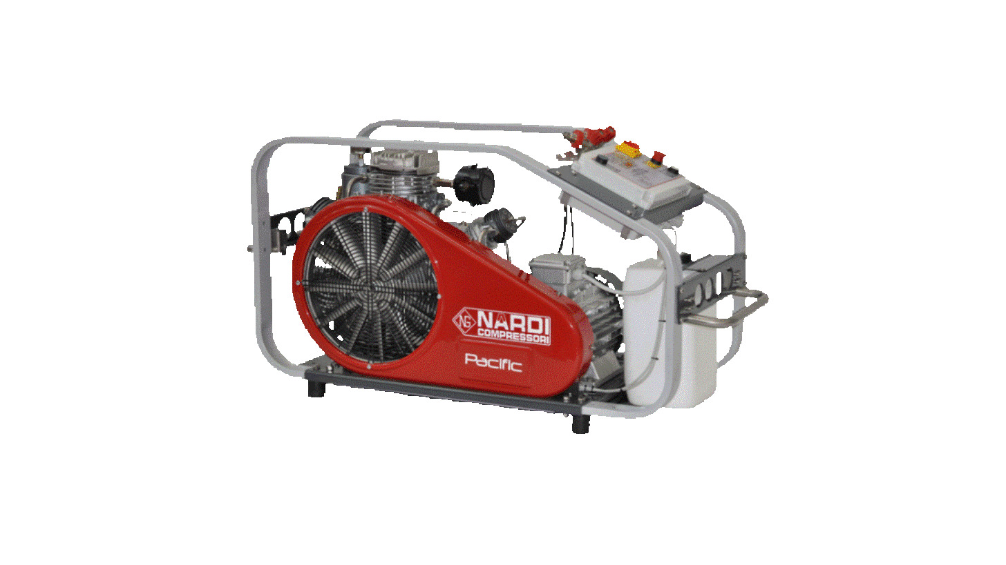 Logo PACIFIC P BREATHING AIR COMPRESSORS