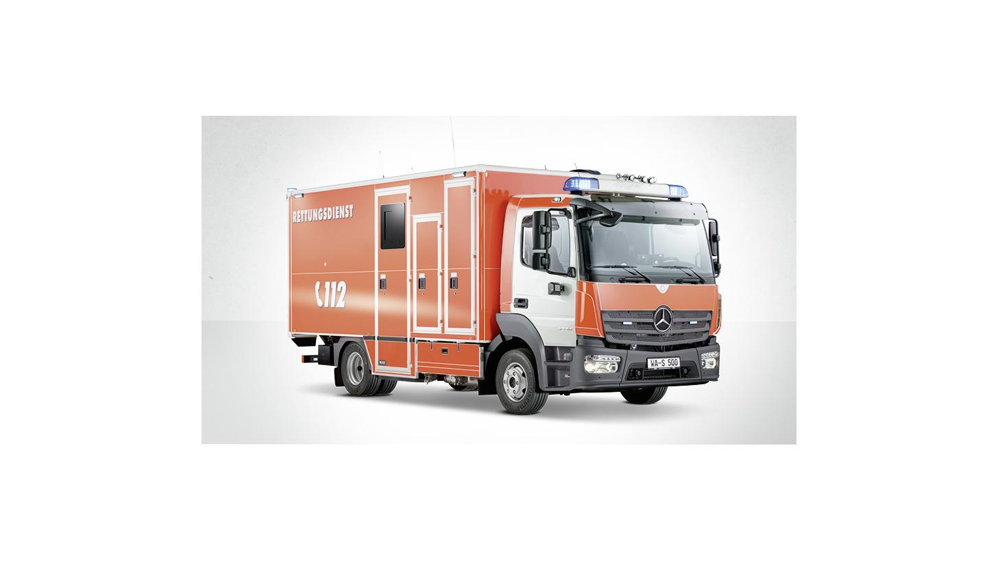 Logo Schwerlast-/Intensivrettungswagen