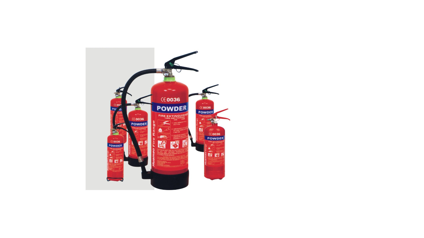 Logo HM01 Dry powder fire extinguisher