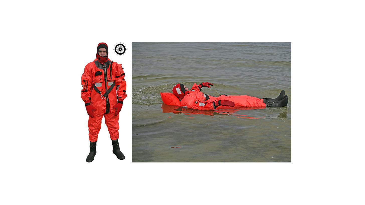 Logo immersion suit OC 8000HR