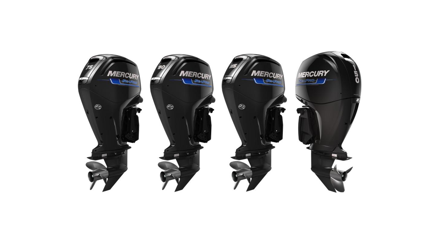 Logo SeaPro Motore für kommerzielle Anwendung