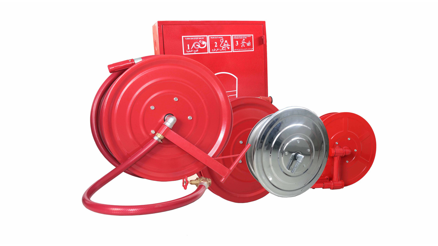 Logo Fire Hose Reel and Cabinet