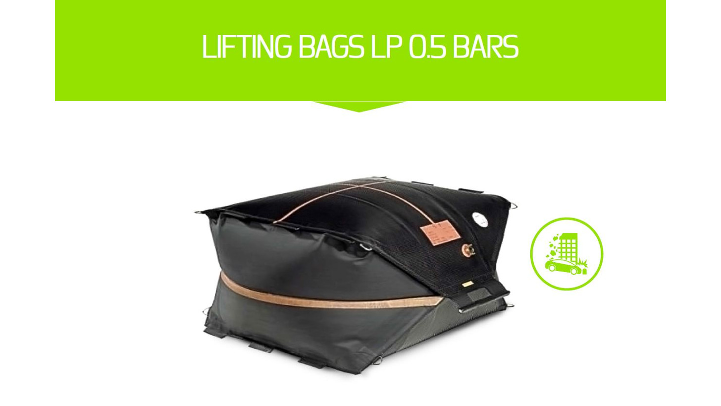 Logo LIFTING BAGS LP 0.5 BARS