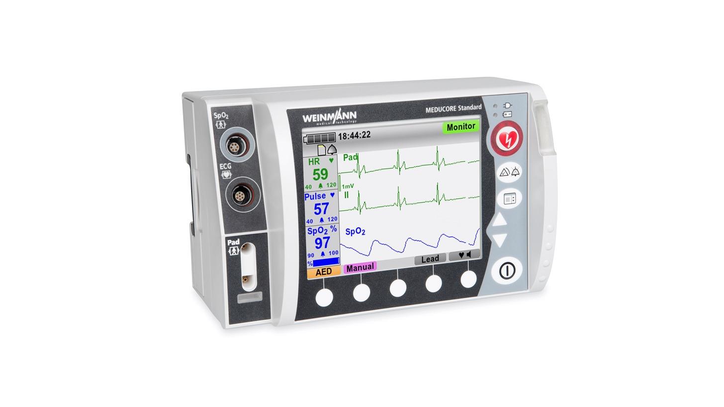 Logo MEDUCORE Standard - Defibrillator-/Monitoringsystem
