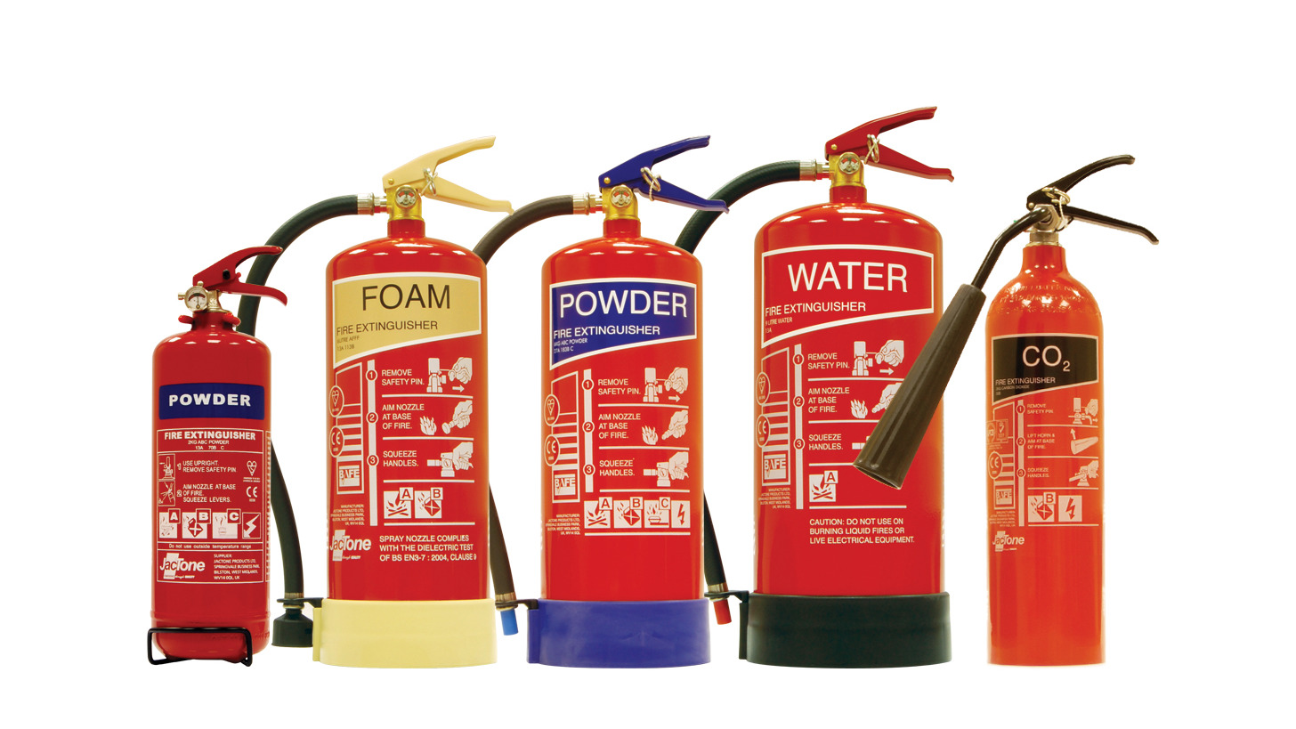 Logo Jactone Premium Range Fire Extinguishers