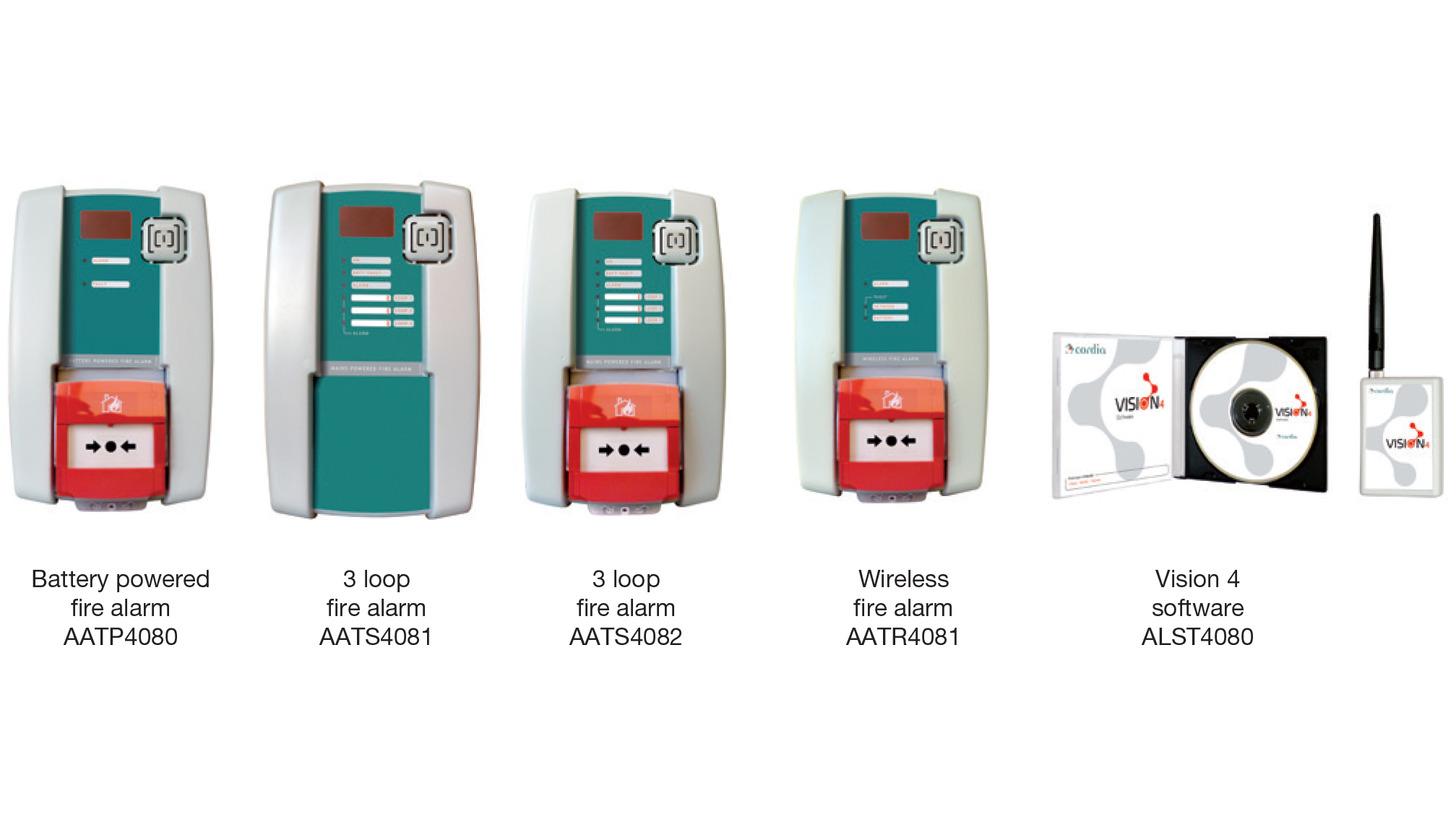 Logo Long-range wireless fire alarm unit