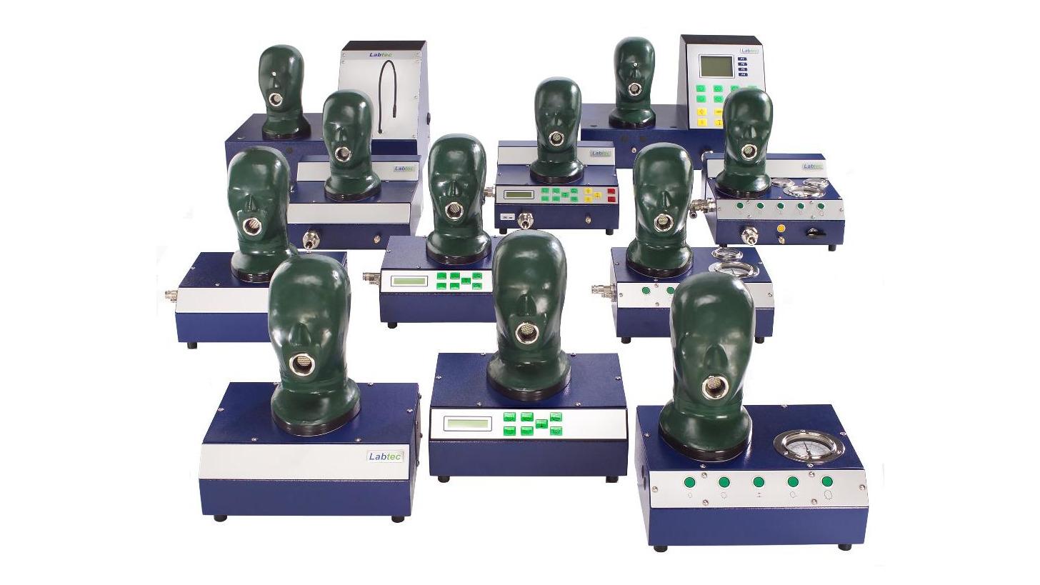 Logo Respiratory protection test technology
