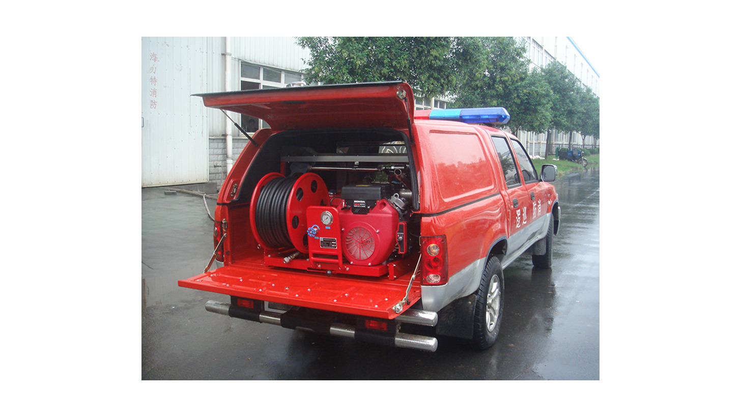 Logo Water Mist Fire Fighting Vehicle
