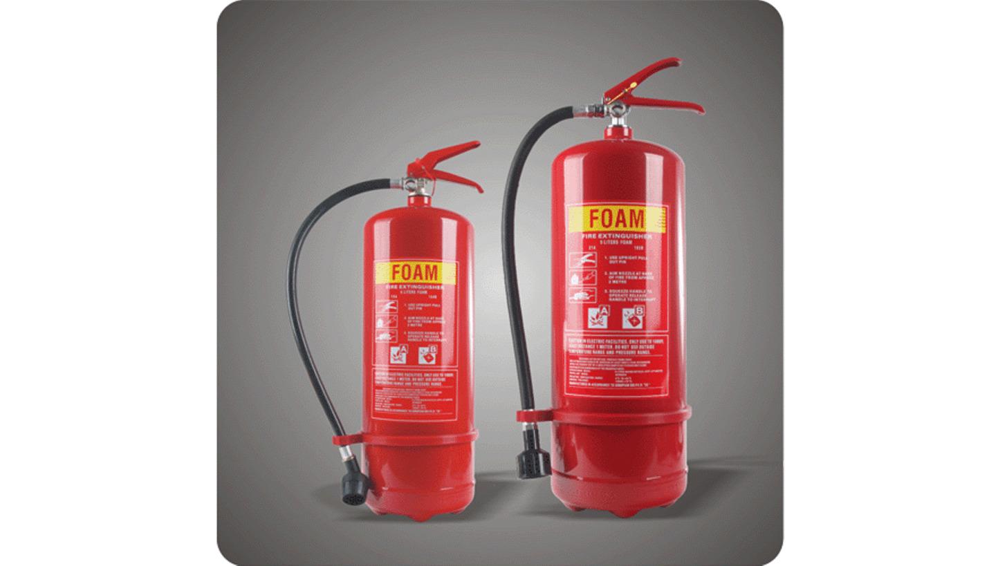 Logo Foam & Water Fire Extinguishers