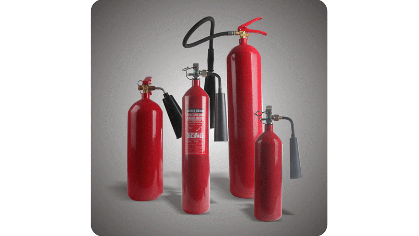 Logo Carbon Steel CO2 Fire Extinguishers
