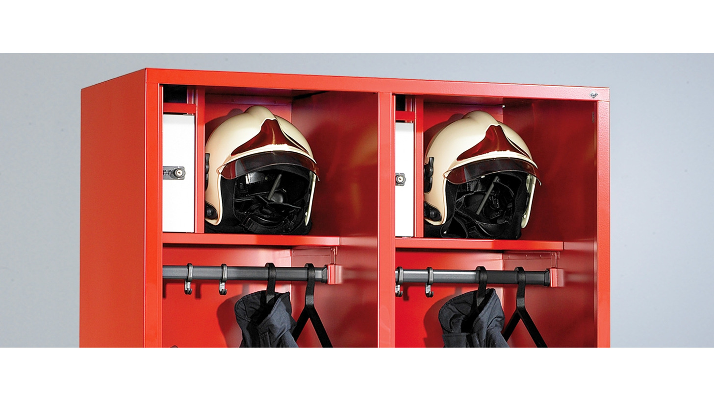 Logo The new Evolo fire service lockers