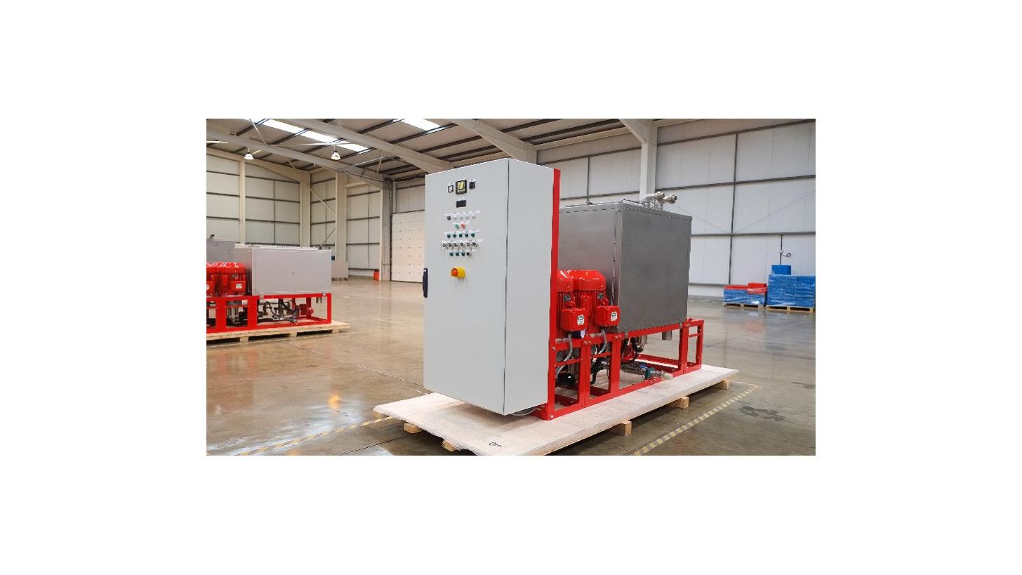 Logo High Pressure Water Mist Pump Units