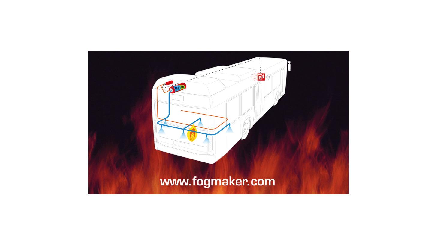 Logo Fire suppression piston accumulator